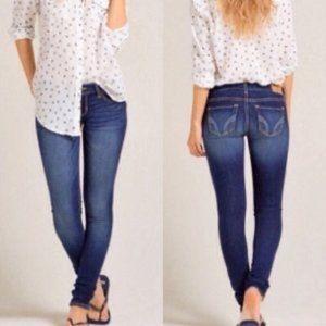 HOLLISTER | Skinny Jeans Size 31 Denim Pants Blue